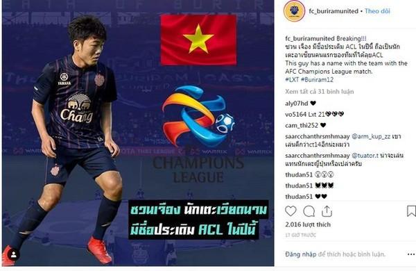 Sự thật chuyện Xuân Trường đá AFC Champions League - Ảnh 1.