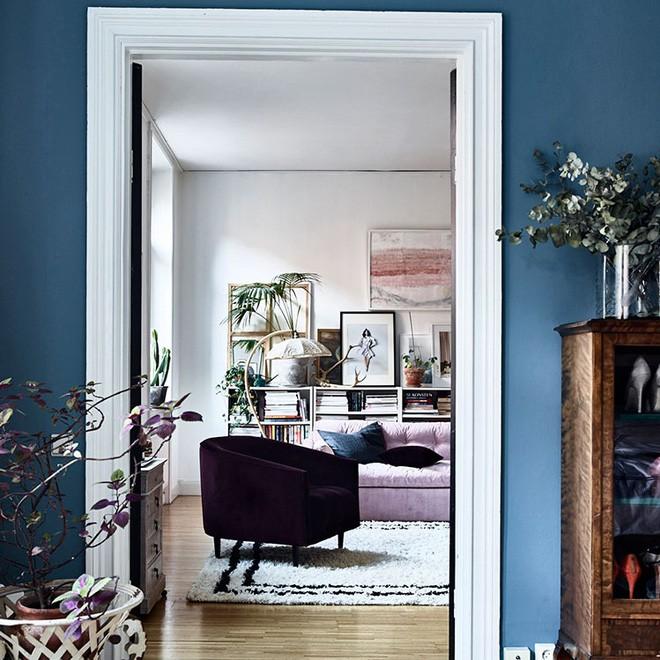 Căn hộ nhỏ chỉ vỏn vẹn 25m² nhưng đẹp mơ màng với gam màu pastel khiến ai nhìn cũng yêu - Ảnh 5.