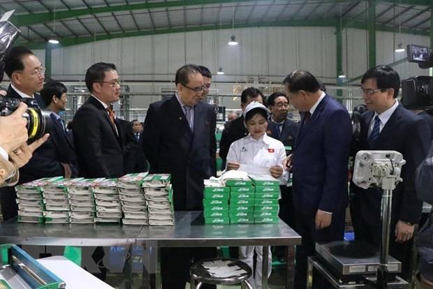 Đoàn đại biểu Đảng Lao động Triều Tiên thăm tỉnh Hải Dương - Ảnh 1.