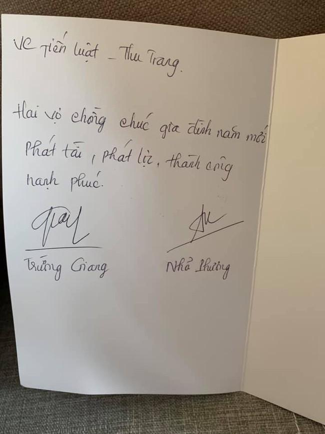 Không chuẩn bị quà Tết sang chảnh, vợ chồng Nhã Phương - Trường Giang tự tay làm món quà mộc mạc này tặng đồng nghiệp - Ảnh 3.