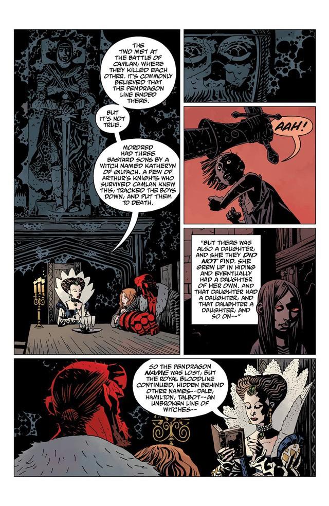 Hellboy và 2 bảo vật quyền lực phi phàm giúp Quỷ Đỏ trở nên mạnh khủng khiếp - Ảnh 5.