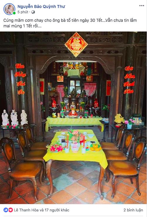 Sao Việt ngày cuối cùng năm Mậu Tuất: Người tất bật nấu nướng cho gia đình, người hào hứng khoe nhà cả triệu đô! - Ảnh 16.