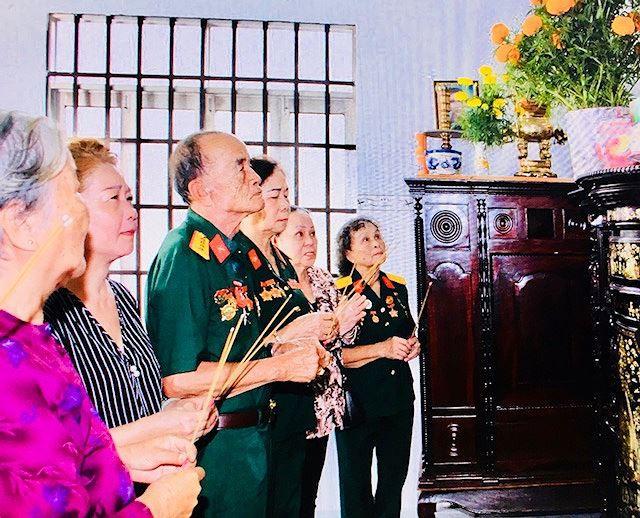 Xúc động ngày giỗ các chiến sỹ Biệt động Sài Gòn - Ảnh 6.