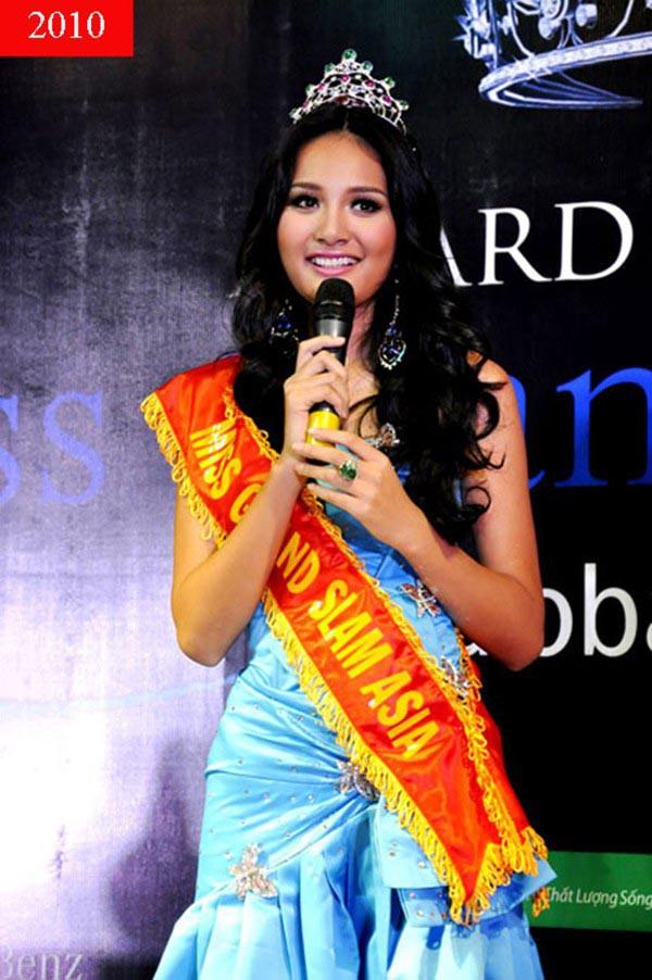 Cuộc sống của hoa hậu Việt duy nhất khiến H'Hen Niê lép vế - Ảnh 2.
