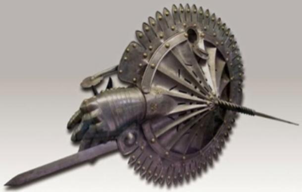 Những vũ khí quái dị ít được biết đến thời Trung cổ - Ảnh 11.