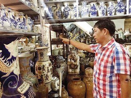 Đại gia Sài Gòn sở hữu kho 10 vạn cổ vật lớn nhất châu Á - Ảnh 1.