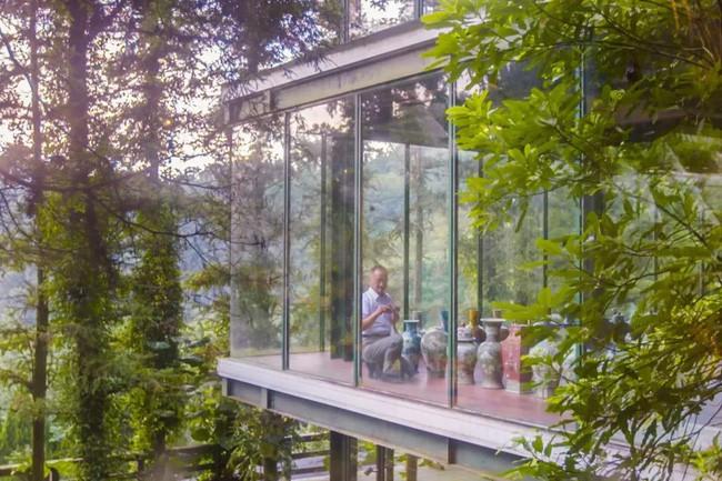 Vị giáo sư độc thân sở hữu ngôi nhà kính trong thung lũng 12.000m² với cuộc sống khó ai tin được - Ảnh 17.