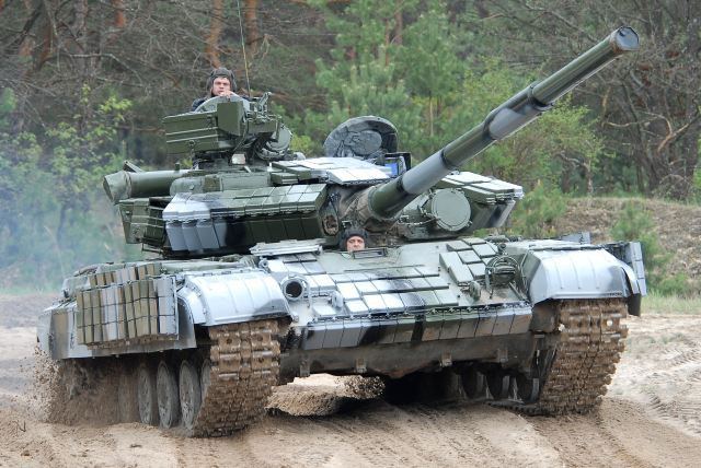 Ukraine nâng cấp xe tăng T-64 bằng tháp pháo của T-55: Cải tiến kiểu... thụt lùi? - Ảnh 1.
