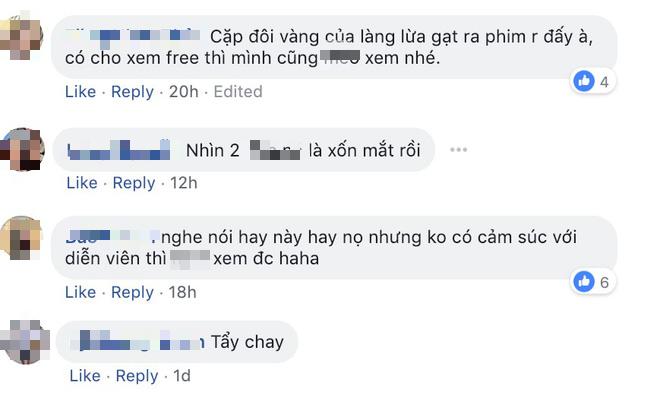 Phản ứng của khán giả về phim bị tẩy chay của Cát Phượng - Kiều Minh Tuấn sau 2 ngày ra rạp - Ảnh 4.