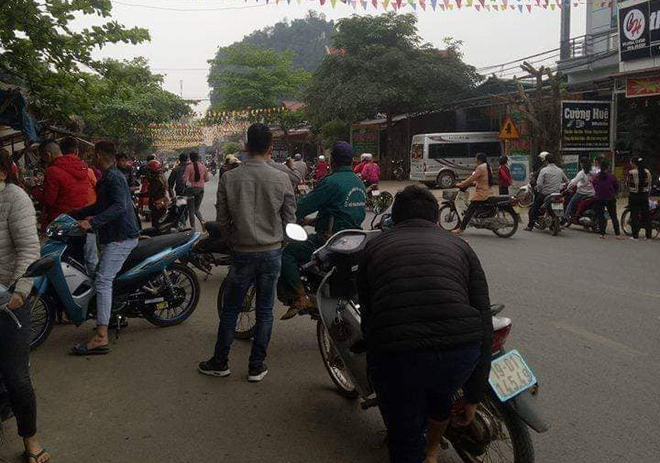 Nổ mìn trước nhà dân ở Phú Thọ khiến nhiều người hoảng sợ - Ảnh 2.