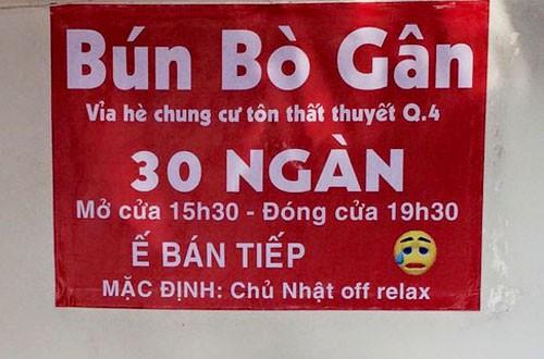 Tấm biển quảng cáo cứ ngỡ bình thường, đọc kĩ nhiều người phải cười vì một chi tiết - Ảnh 3.