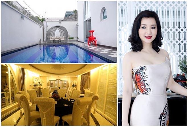 Từng là giai nhân của chủ tịch Tân Hoàng Minh, Hoa hậu không tuổi Giáng My giàu cỡ nào? - Ảnh 3.