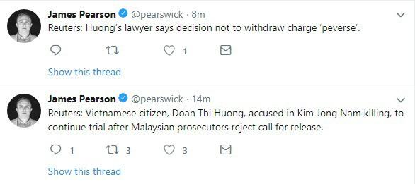 Công tố viên từ chối đề nghị thả tự do cho Đoàn Thị Hương, phiên xét xử tiếp theo vào ngày 1/4 - Ảnh 2.
