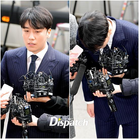 Clip Seungri chính thức trình diện để thẩm vấn: Vẫn đi xe sang nhưng tiều tuỵ hẳn, mắt đỏ rưng rưng xin lỗi nạn nhân - Ảnh 13.