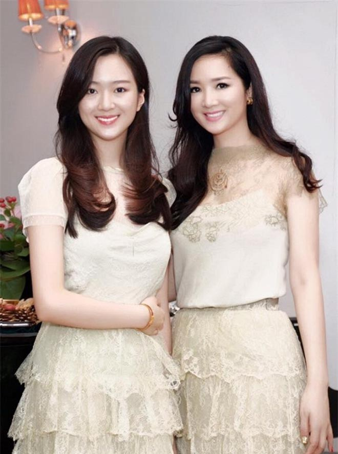 Nhan sắc xinh đẹp không tì vết của con gái HH Giáng My và chủ tịch Tân Hoàng Minh - Ảnh 2.