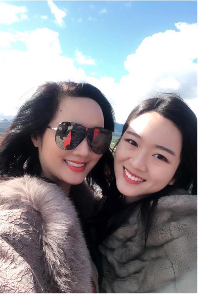 Nhan sắc xinh đẹp không tì vết của con gái HH Giáng My và chủ tịch Tân Hoàng Minh - Ảnh 3.