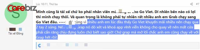 Sau 10 ngày Go-Viet thu full chiết khấu, tài xế viết tâm thư: Nếu Grab mở lối, anh em xin chạy về! - Ảnh 4.