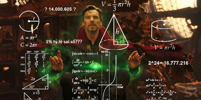Góc toán học: Fan Infinity War giải thích con số 14.000.605 viễn cảnh của Dr. Strange khiến ai cũng phải nhức đầu - Ảnh 1.