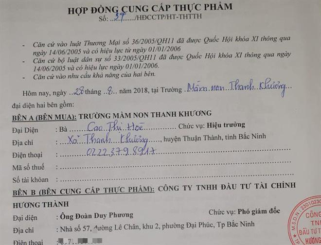 Công ty cung cấp thực phẩm nghi bẩn ở Bắc Ninh gỡ biển hiệu, chuyển địa chỉ hoạt động - Ảnh 1.