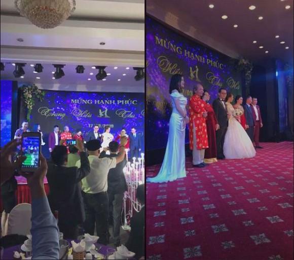 NSND Trung Hiếu tổ chức đám cưới với vợ trẻ kém 19 tuổi ở Thái Bình, bất ngờ nói điều này khiến cả hội trường thích thú - Ảnh 5.