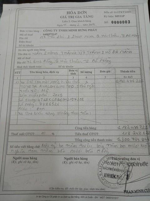 Khởi tố người từng tặng xe cho Thành ủy Đà Nẵng để ông Nguyễn Xuân Anh sử dụng - Ảnh 2.