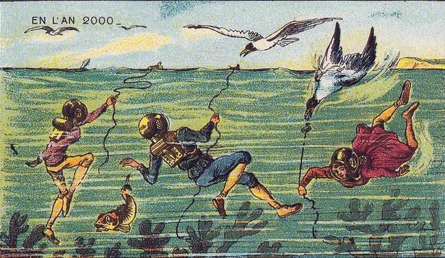 Đây là cách mà con người 100 năm trước tưởng tượng ra thế giới tương lai, có những điều đã trở thành hiện thực - Ảnh 14.