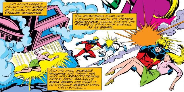 Captain Marvel: 8 điểm khác biệt giữa phiên bản điện ảnh và comics về nữ siêu anh hùng mạnh nhất MCU - Ảnh 2.