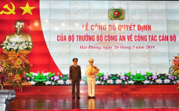 Tướng Đỗ Hữu Ca nghỉ hưu, Hải Phòng có tân giám đốc công an 47 tuổi - Ảnh 1.