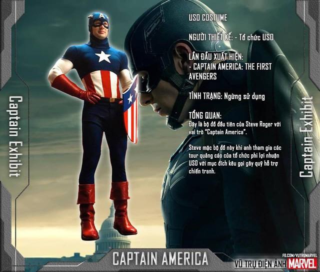 Tất tần tật tiểu sử về 8 bộ trang phục cực chất của Captain America trong MCU - Ảnh 1.
