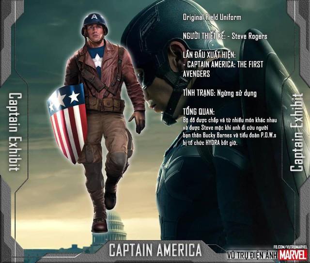 Tất tần tật tiểu sử về 8 bộ trang phục cực chất của Captain America trong MCU - Ảnh 2.