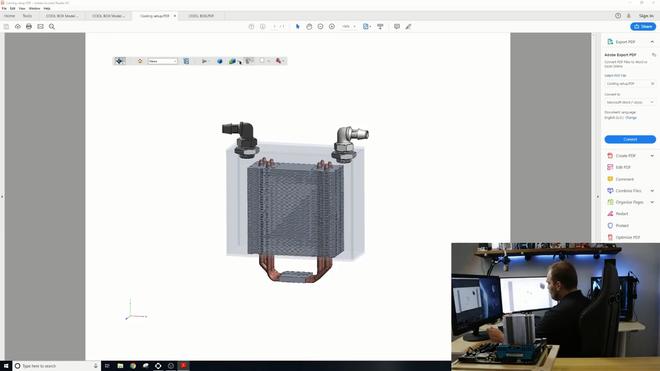 Dùng tản nhiệt khí nhưng lại làm mát bằng nước đá, Youtuber khiến dân PC bất ngờ vì quá sáng tạo - Ảnh 3.