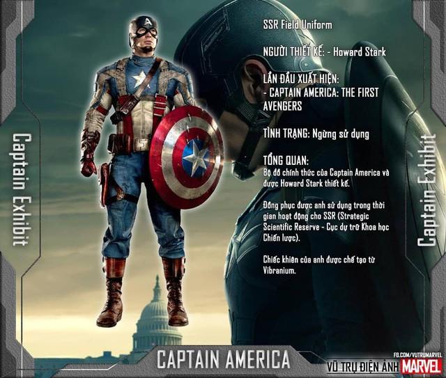 Tất tần tật tiểu sử về 8 bộ trang phục cực chất của Captain America trong MCU - Ảnh 3.