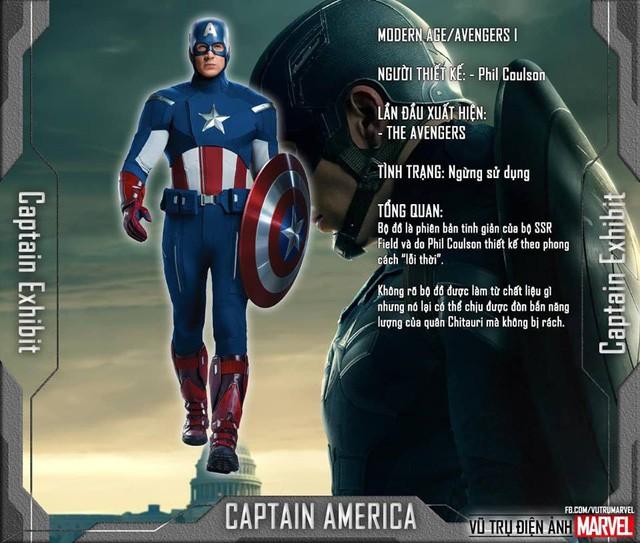 Tất tần tật tiểu sử về 8 bộ trang phục cực chất của Captain America trong MCU - Ảnh 4.