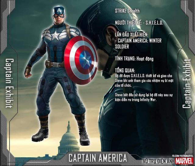 Tất tần tật tiểu sử về 8 bộ trang phục cực chất của Captain America trong MCU - Ảnh 6.