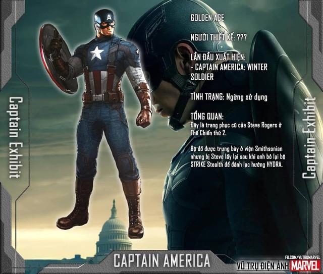 Tất tần tật tiểu sử về 8 bộ trang phục cực chất của Captain America trong MCU - Ảnh 7.