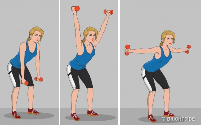 9 bài tập thể dục tốt nhất cho người sau 40 tuổi: Người không tập thì sớm lão hóa bệnh tật - Ảnh 6.