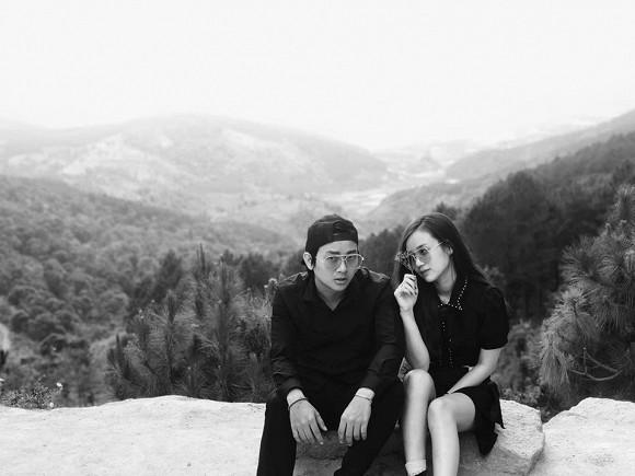 Khoảnh khắc ngọt ngào của Hoài Lâm và bạn gái sau thời gian ở ẩn - Ảnh 1.