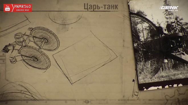 [Vietsub] Tìm hiểu về chiếc xe tăng Sa Hoàng độc nhất vô nhị trong thế chiến I: Cao 9 m, nặng 40 tấn nhưng chỉ là món đồ chơi phóng to - Ảnh 2.