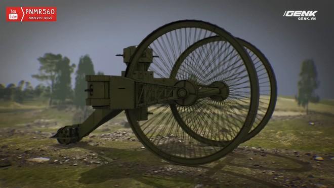 [Vietsub] Tìm hiểu về chiếc xe tăng Sa Hoàng độc nhất vô nhị trong thế chiến I: Cao 9 m, nặng 40 tấn nhưng chỉ là món đồ chơi phóng to - Ảnh 11.