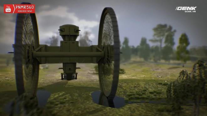 [Vietsub] Tìm hiểu về chiếc xe tăng Sa Hoàng độc nhất vô nhị trong thế chiến I: Cao 9 m, nặng 40 tấn nhưng chỉ là món đồ chơi phóng to - Ảnh 13.