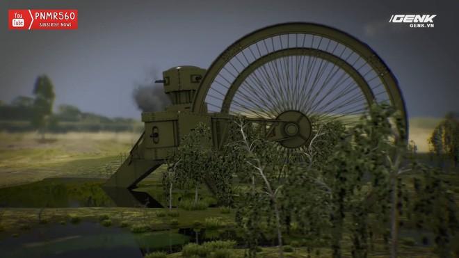 [Vietsub] Tìm hiểu về chiếc xe tăng Sa Hoàng độc nhất vô nhị trong thế chiến I: Cao 9 m, nặng 40 tấn nhưng chỉ là món đồ chơi phóng to - Ảnh 14.