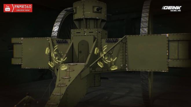 [Vietsub] Tìm hiểu về chiếc xe tăng Sa Hoàng độc nhất vô nhị trong thế chiến I: Cao 9 m, nặng 40 tấn nhưng chỉ là món đồ chơi phóng to - Ảnh 7.