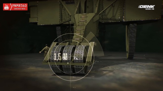[Vietsub] Tìm hiểu về chiếc xe tăng Sa Hoàng độc nhất vô nhị trong thế chiến I: Cao 9 m, nặng 40 tấn nhưng chỉ là món đồ chơi phóng to - Ảnh 9.