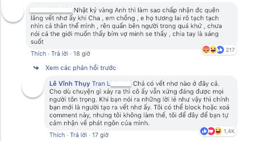 Quân tử như Vĩnh Thụy, chia tay vẫn công khai bảo vệ Hoàng Thùy Linh trước lời lẽ thô tục, nhắc lại scandal lộ clip nóng - Ảnh 3.