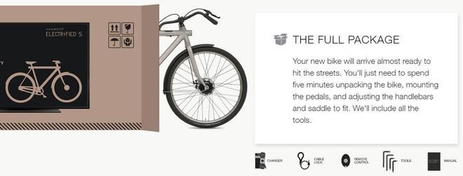 Công ty này bán xe đạp trong vỏ hộp đựng TV, mưu đồ thực sự là gì? - Ảnh 1.