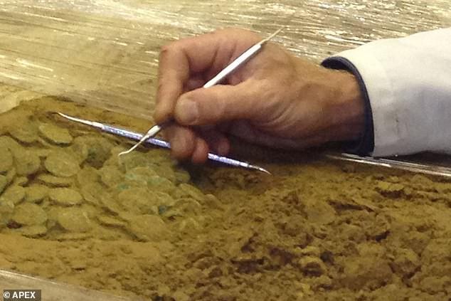 Phát hiện kho đồng xu vàng cổ lớn chưa từng thấy, trị giá 13 triệu USD - Ảnh 9.