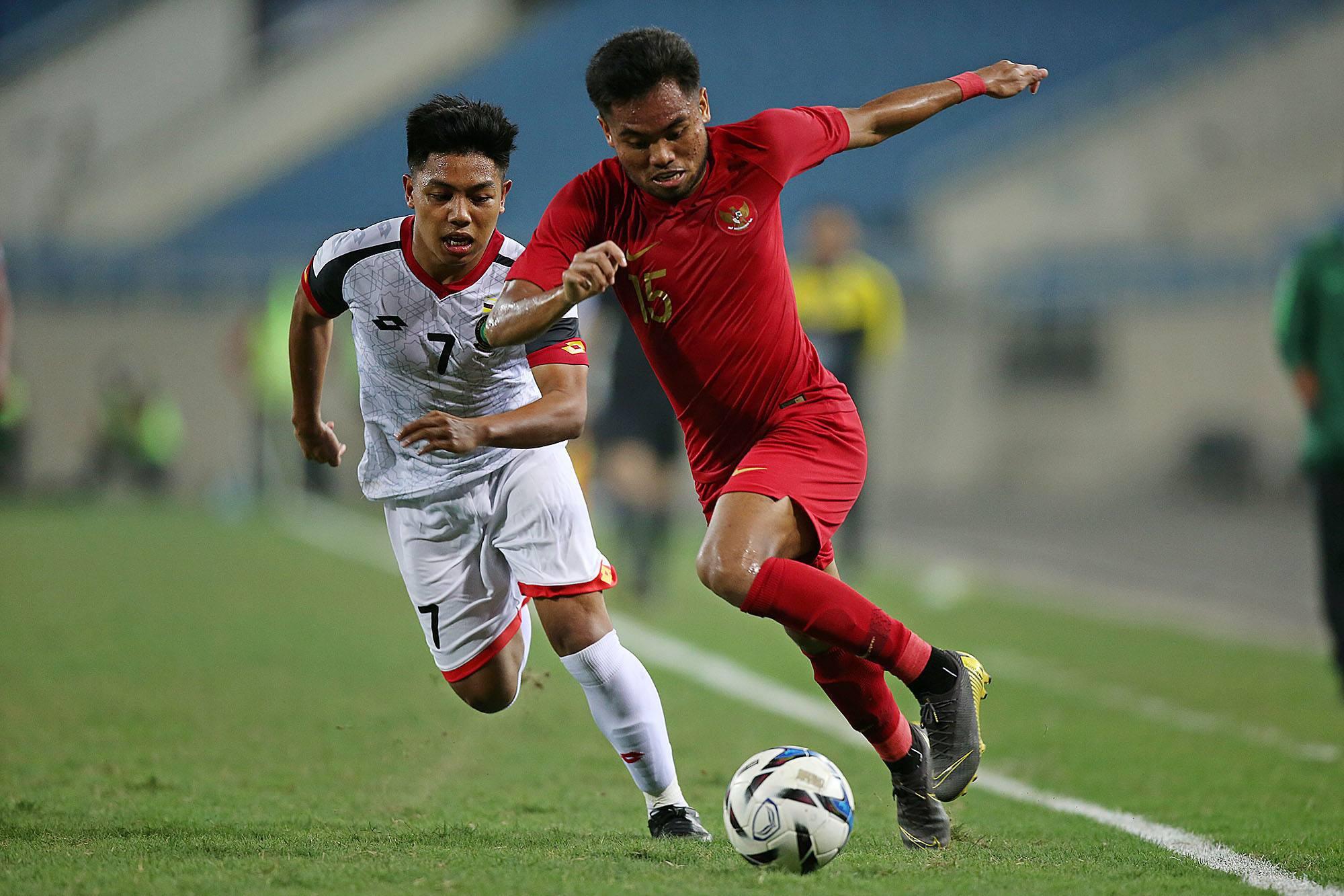 U23 Brunei suýt gây bất ngờ trước Indonesia