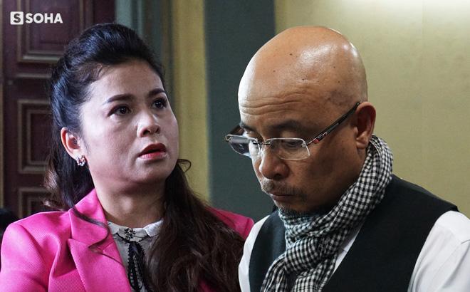 Bất mãn với phán quyết của toà, bà Lê Hoàng Diệp Thảo: Đừng có phỏng vấn nữa, đây là một bản án đau lòng! - Ảnh 1.