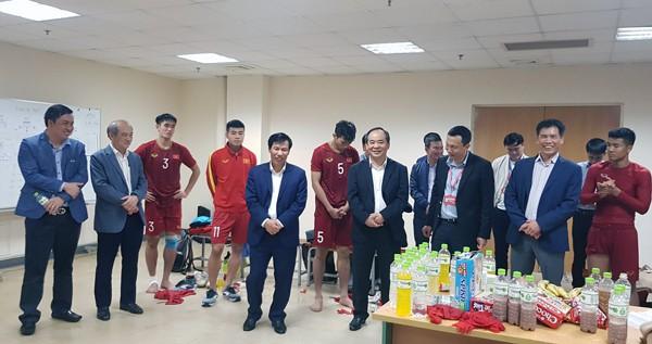 U23 Việt Nam được thưởng nóng 1,5 tỉ đồng sau màn vùi dập U23 Thái Lan - Ảnh 1.