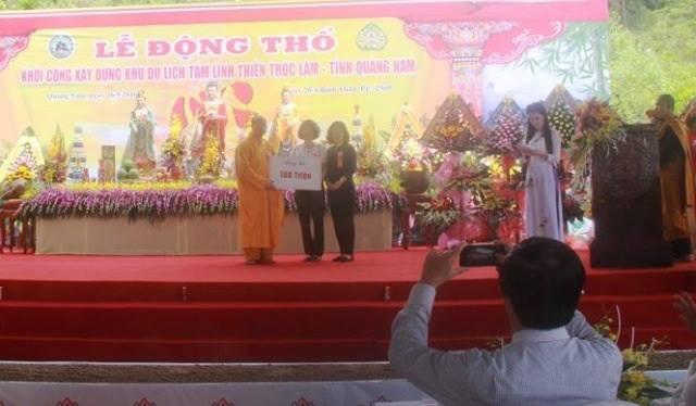 Ông chủ chùa Ba Vàng Quảng Nam có quan hệ như thế nào với Đại đức Thích Trúc Thái Minh? - Ảnh 2.